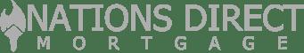 Nations Direct Mortgage Logo grey